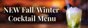 NEW fall/winter cocktail menu